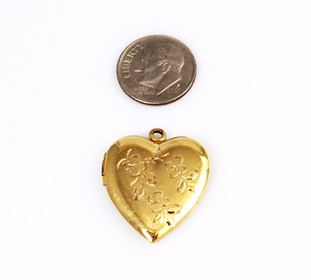 Ballou Gold Filled Heart Locket