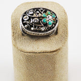 Barse Sterling & Turquoise Ring