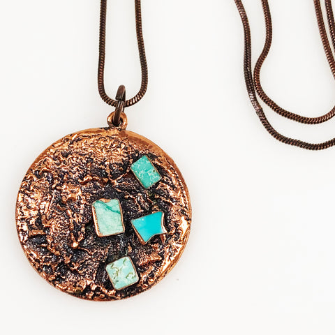Bell Trading Turquoise & Copper Corinthian Necklace