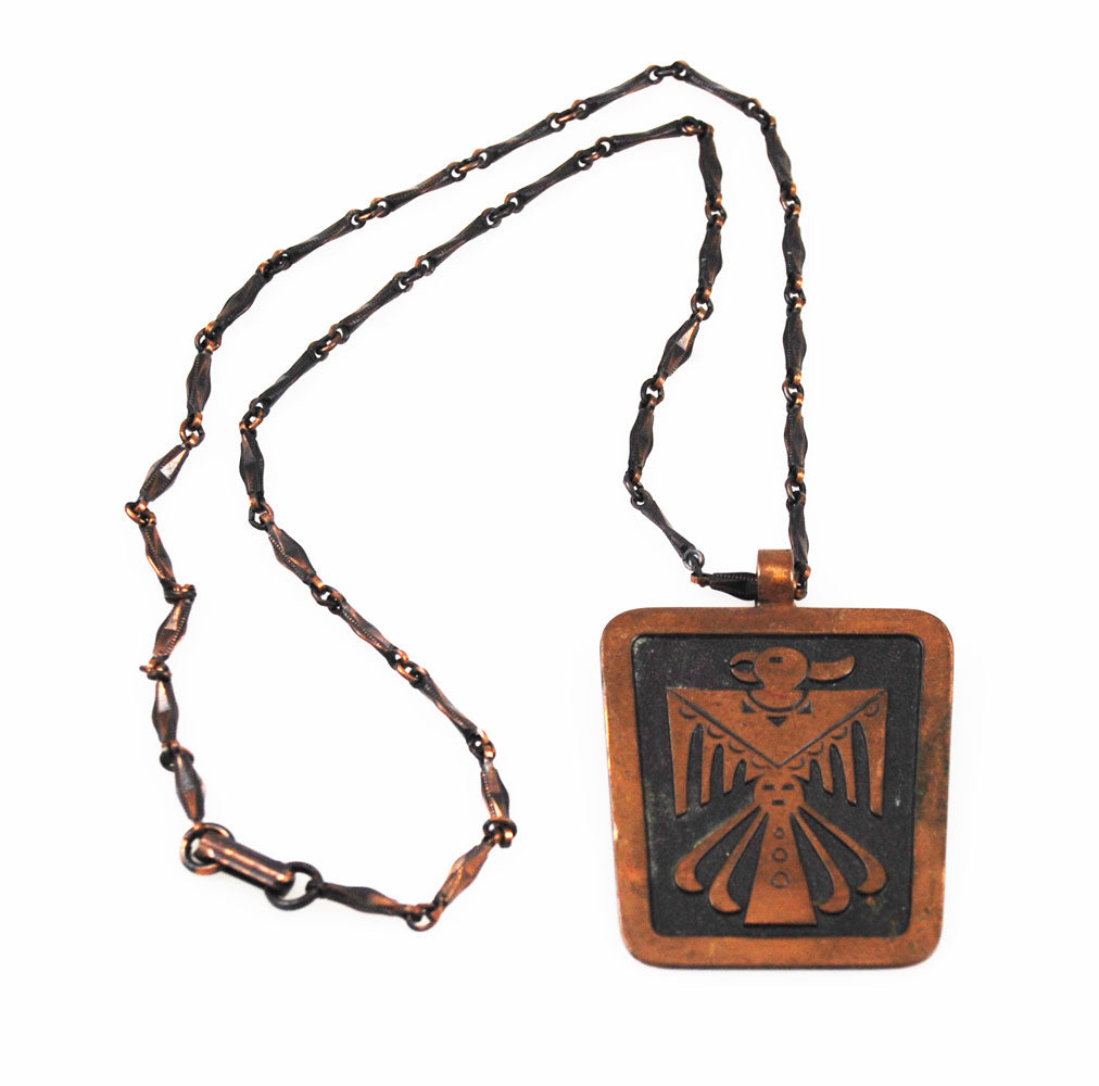 Bell Trading Post Copper Thunderbird Necklace