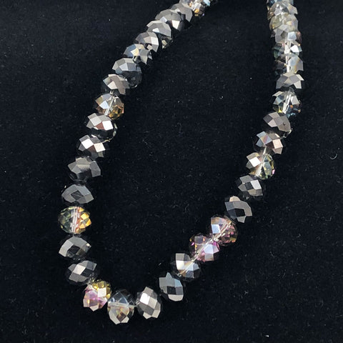 D Stevens faceted crystal beads