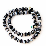 Antique Black & White African Trade Beads