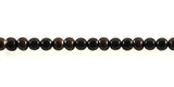 Black Ebony Wood Bead Strands