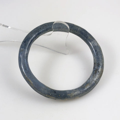 Blue Denim Coral Bracelet Bangle Vintage