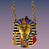 Cloisart Egyptian Revival King Tut Necklace