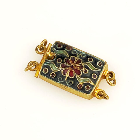 Chinese Cloisonne Box Clasp