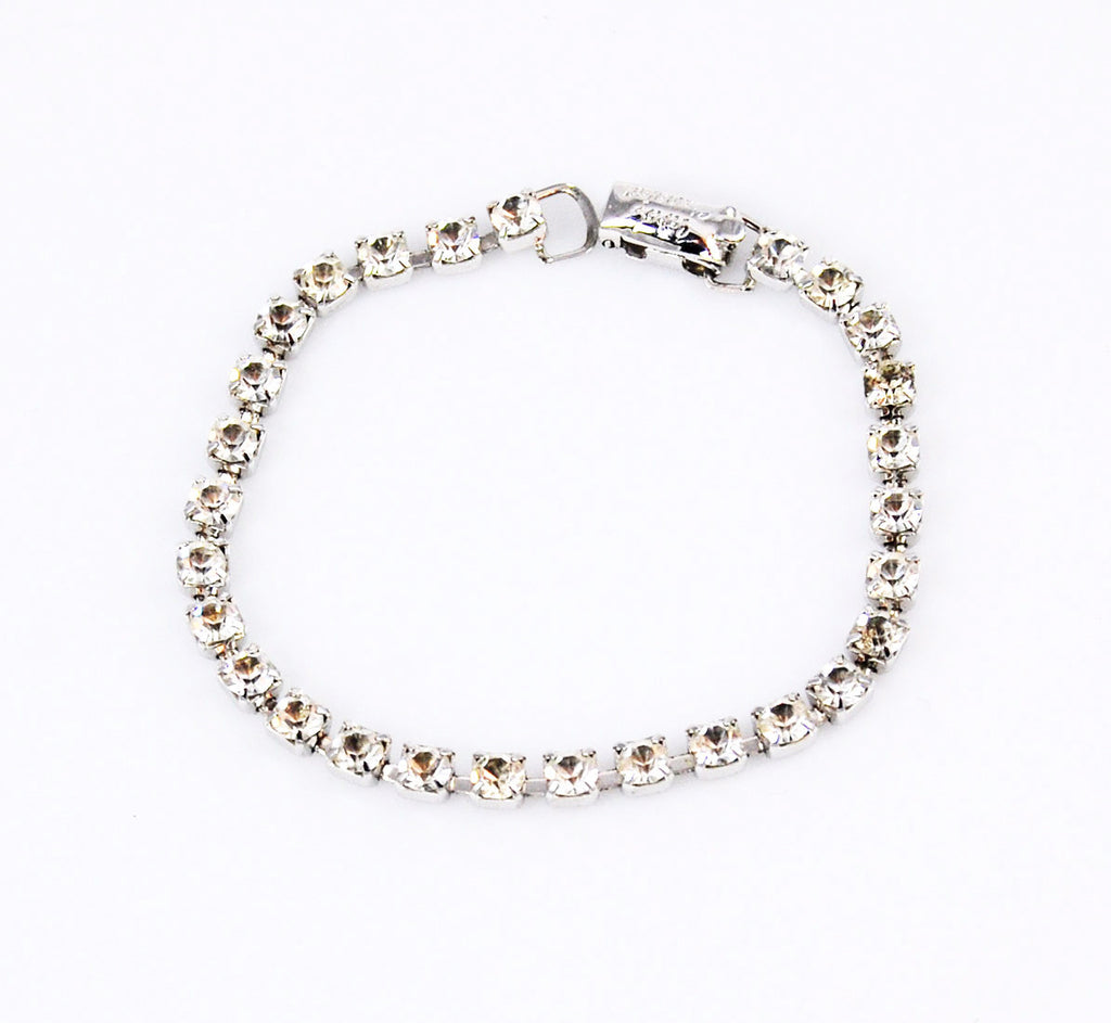 Coro Rhinestone Tennis Bracelet for Carol Channing
