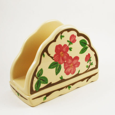 Desert Rose Franciscan Napkin Holder