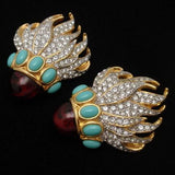 Elizabeth Taylor Eternal Flame Earrings Avon