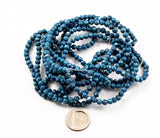Turquoise Fossil Gemstone Bead Strands
