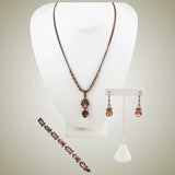 Givenchy Rhinestone Necklace Set