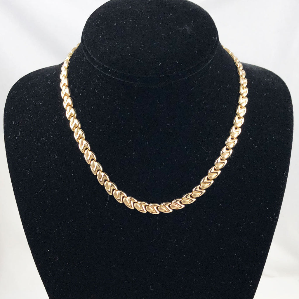 Gold Chain Necklace Italian 10K