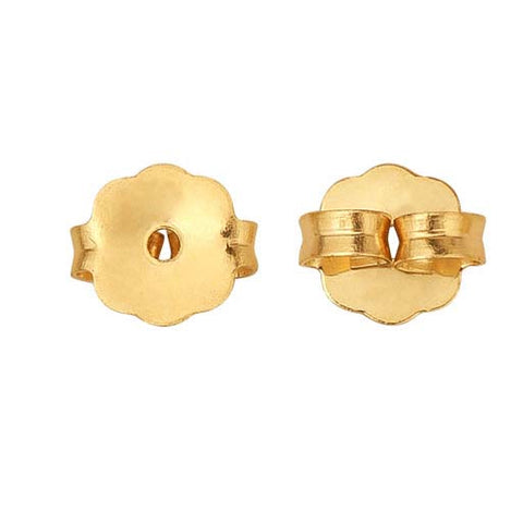 14K Yellow Gold Filled earring backs