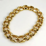 Chunky Vintage Gold Necklace