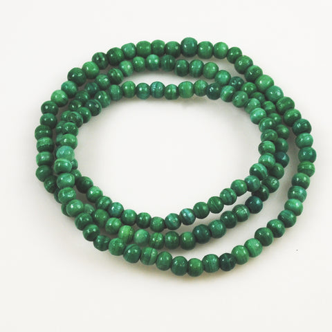 Green Banded Onyx Beads 8mm