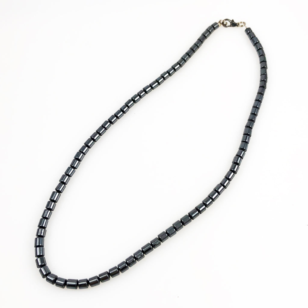Hematite Bead Necklace