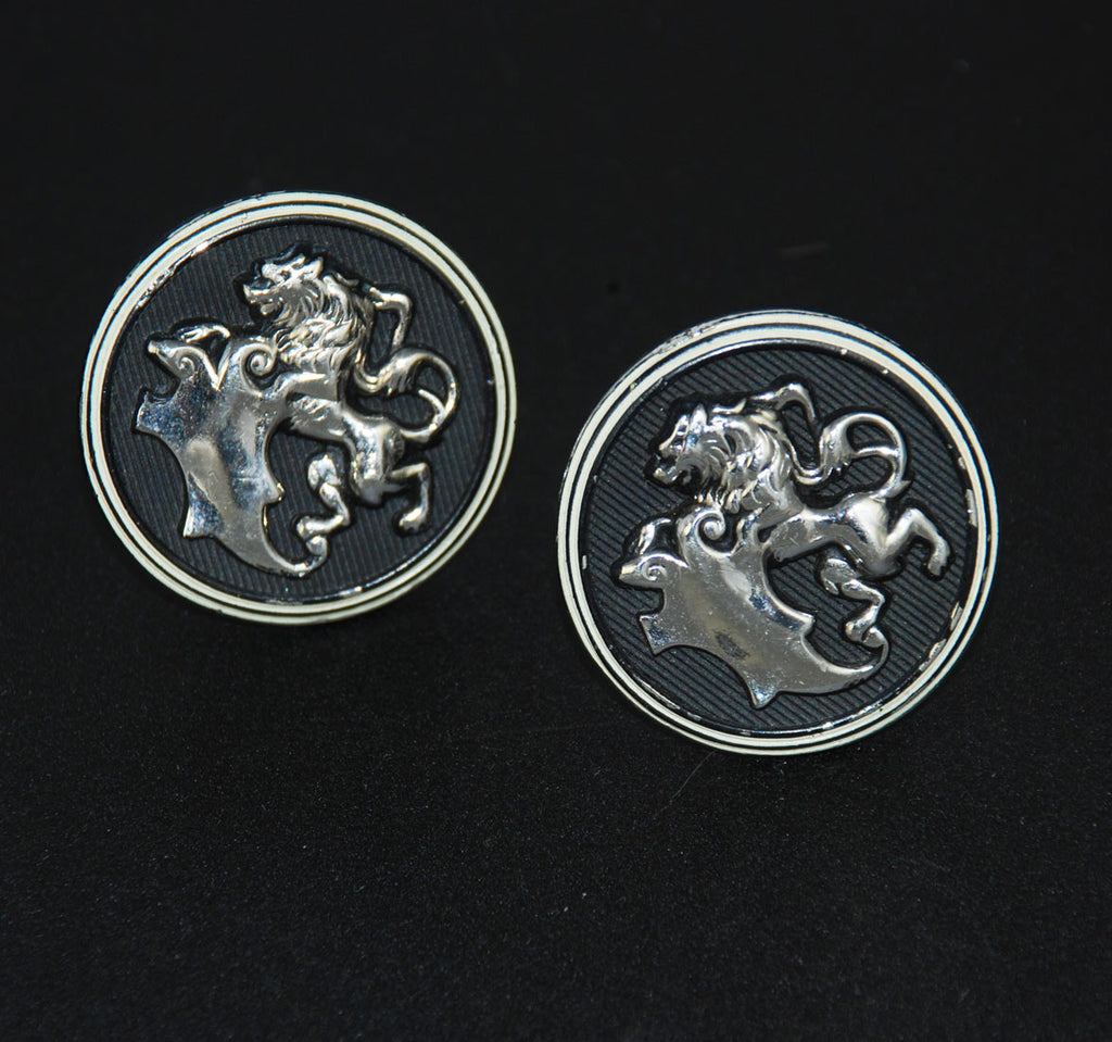 Hickok Lion Cuff Links