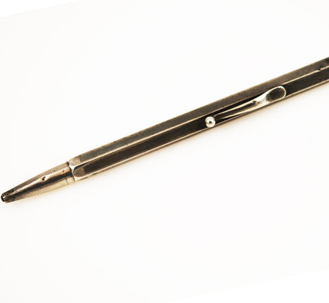 William S. Hicks Sterling Silver Pencil Writing Instrument