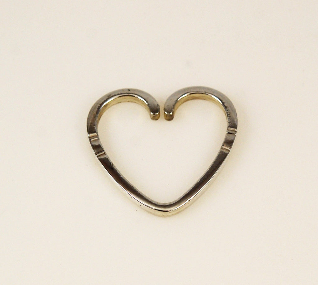 Georg Jensen Sterling Silver Heart Key Ring #44