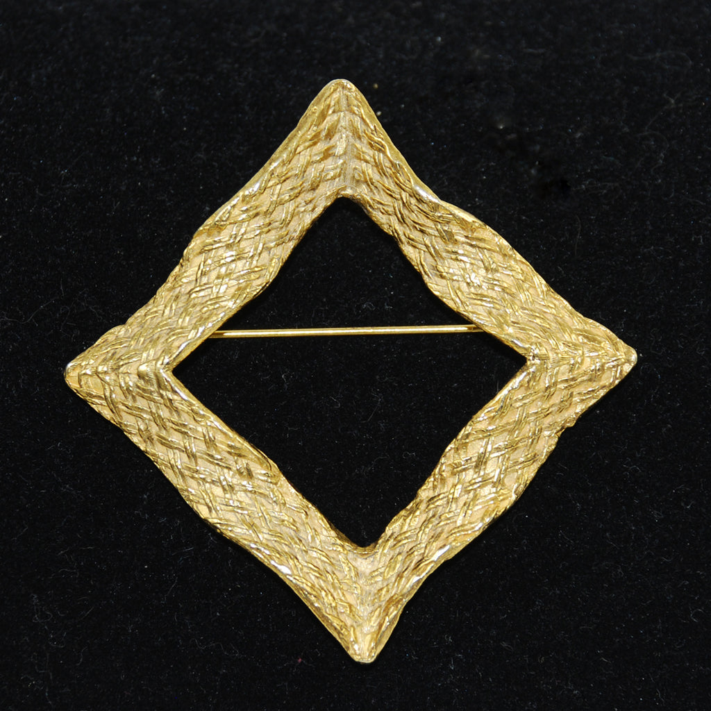 Judith Green Gold Brooch