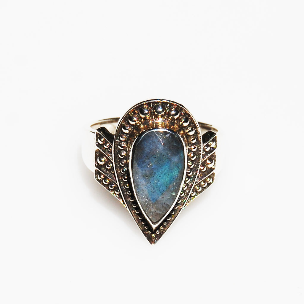 Labradorite Sterling Ring 8 Nicky Butler
