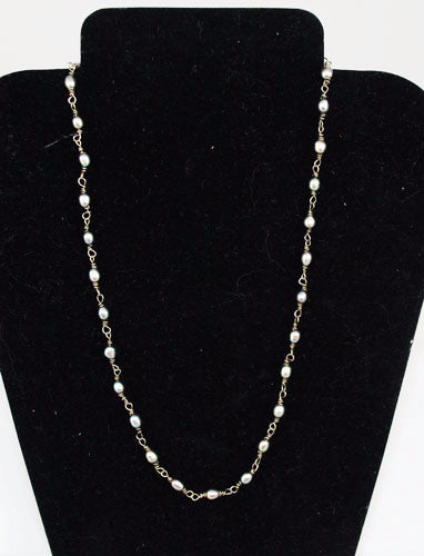 Rebecca Lankford Pearl Necklace