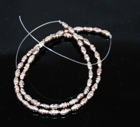 Lavender Freshwater Pearl Beads Strand