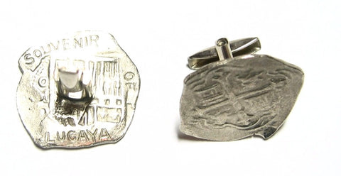 Lucaya Silver Plated Cuff Links
