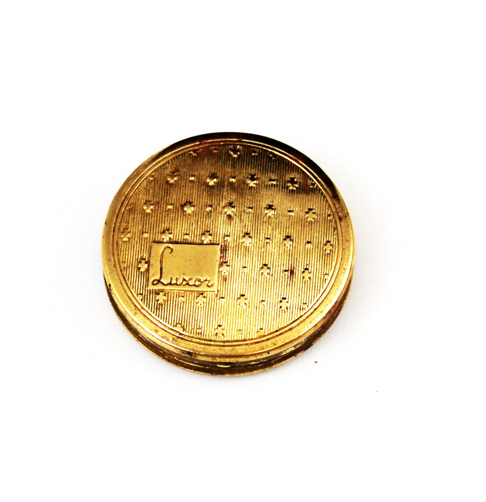 Luxor Gold Rouge Compact Vintage
