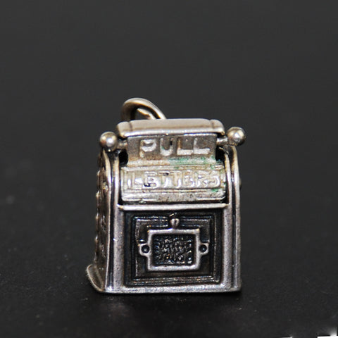 Mailbox Mechanical Sterling Silver Charm by Beau- Movable