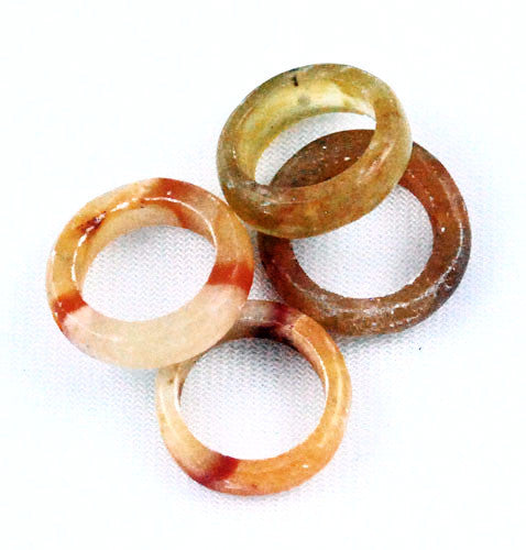 Mexican Onyx Bead Rings