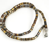 Mixed Metal Snake Necklace Vintage