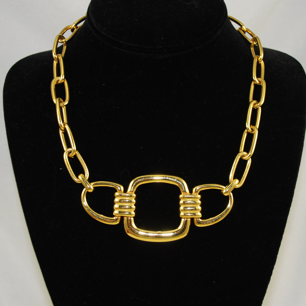 Monet Gold Choker Necklace