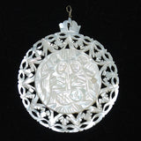 Mother of Pearl Nativity Pendant