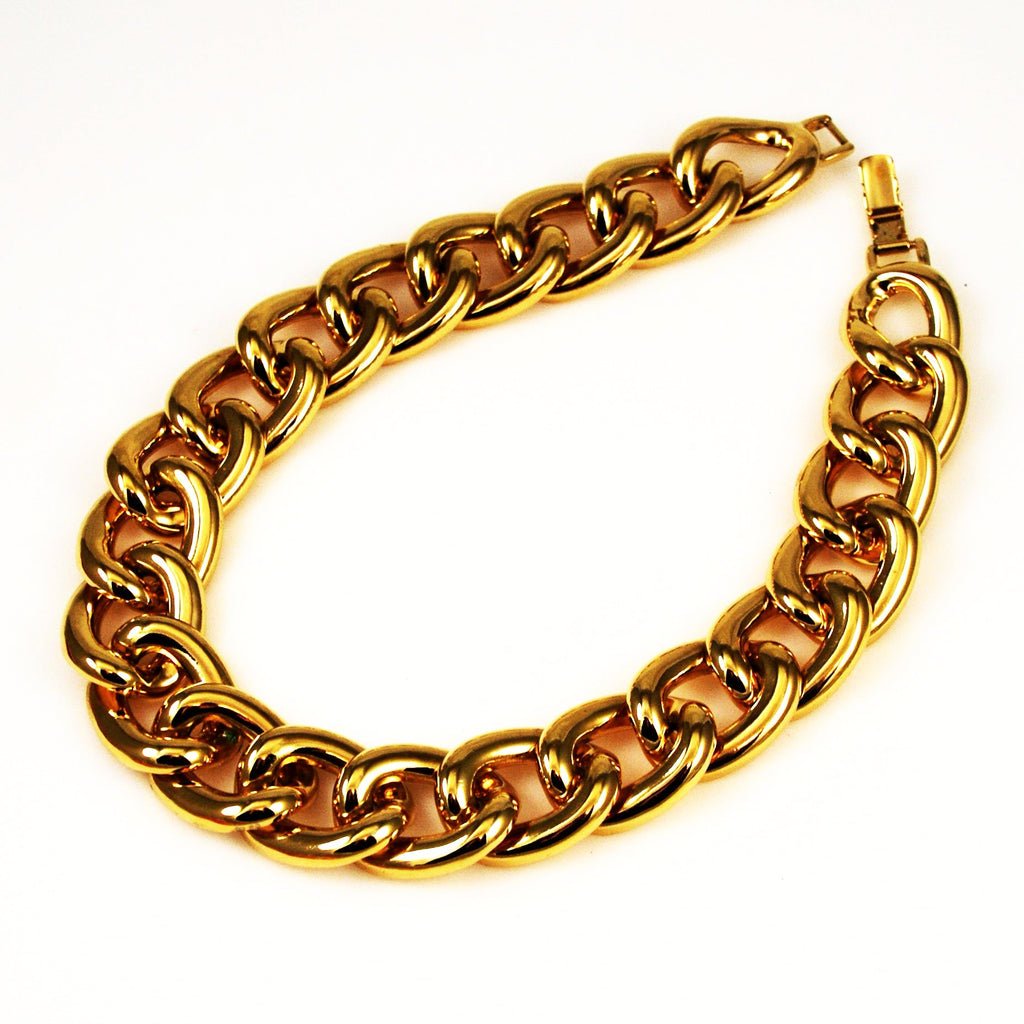 Napier Gold Link Necklace