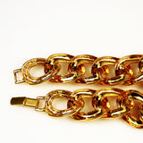 Napier Gold Link Necklace Vintage