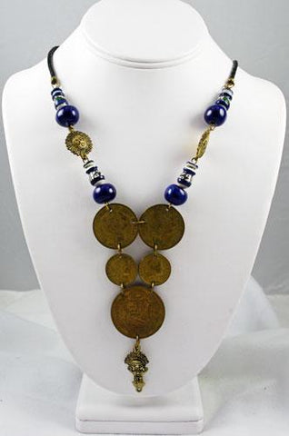 Peruvian Coin Necklace