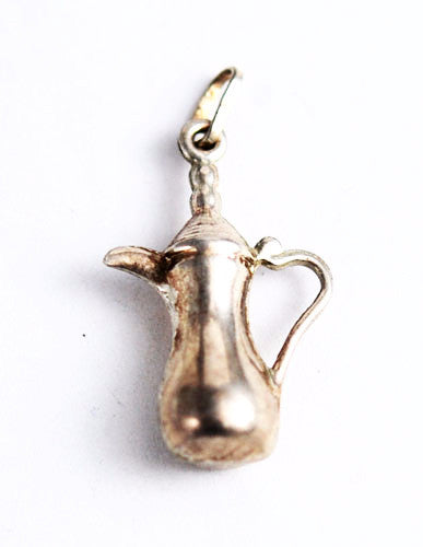 Italian Sterling Silver Pitcher Charm