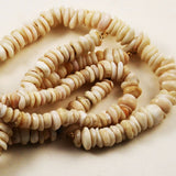 Hawaiian Puka Shell Beads Strand Vintage