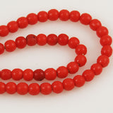 Red Prosser Beads African Trade