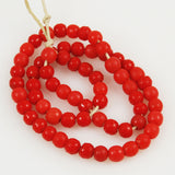 Antique African Trade Red Prosser Beads