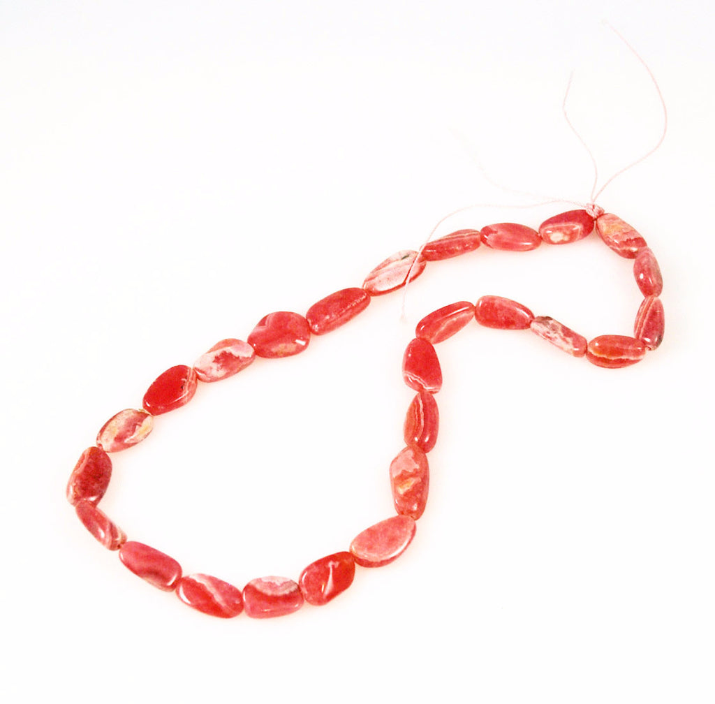 Rhodochrosite Gemstone Beads Strands