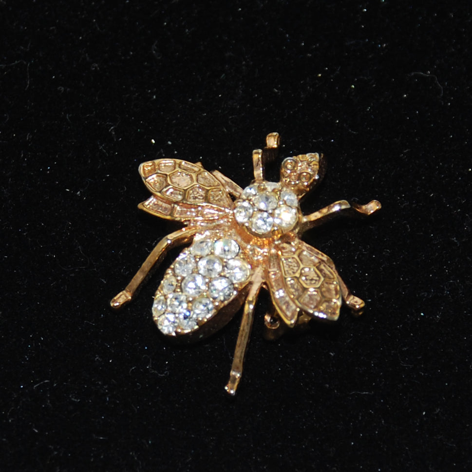 Joan Rivers Gold Bumble Bee Brooch