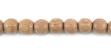 Rosewood Round Wood Bead Strands
