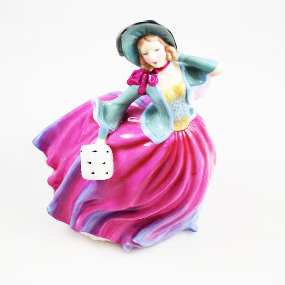Royal Doulton Pretty Ladies Figurine Autumn Breeze