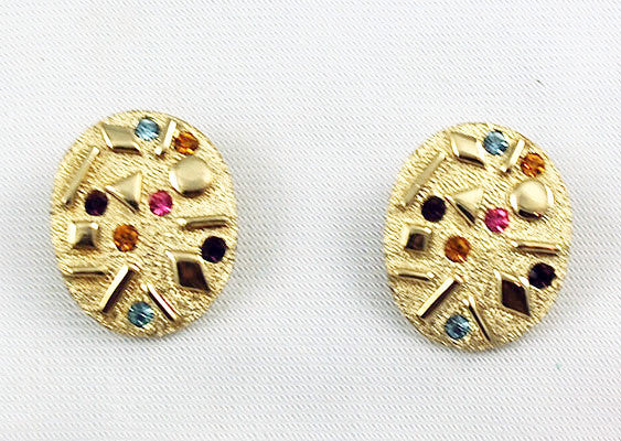 Sarah Coventry Sultana Clip On Earrings