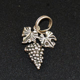 Sterling Silver Grapes Vintage Charm