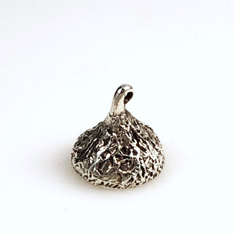 Hershey Kiss Sterling Silver Charm