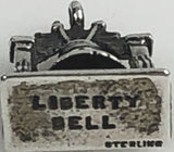 Vintage Liberty Bell Sterling 3D Charm