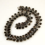 Sterling Silver Spiral Coil Necklace